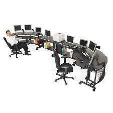 Ergonomics Work Desk For Comfortable Position Office Architect