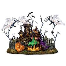 amazon com dona gelsinger halloween light up sculpture with music