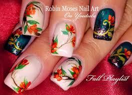 robin moses nail fall nails easy autumn nail design