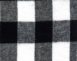 flannel fabric etsy