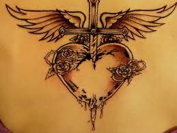 the 25 best feminine cross tattoos ideas on pinterest pretty