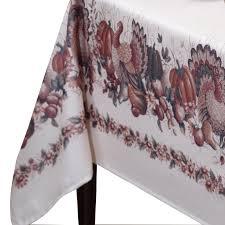 thanksgiving tablecloths sale amazon com benson mills thanksgiving printed fabric tablecloth