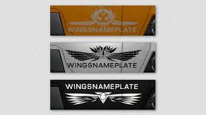 wings name plate pack elite dangerous extras