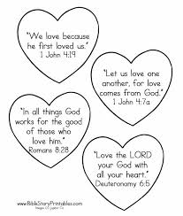 valentine u0027s bible coloring pages winter u0026 valentines crafts