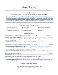 Resume Good Example by College Resume Examples No Work Experience