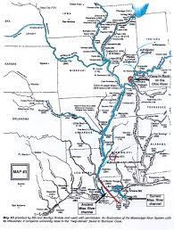Red River New Mexico Map by Ancient Stone Maps