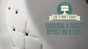 Christmas Cake Decorations On Ebay by Creating A Quilted Effect On A Cake How To Tutorial Zoes Fancy