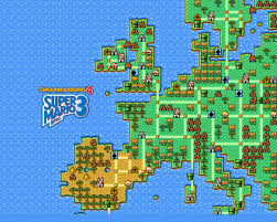 Super Mario World Map by D Super Mario Bros 3 Gaming Forever And Ever Amen Pinterest