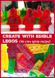 edible legos create with edible legos no corn syrup recipe legos birthdays