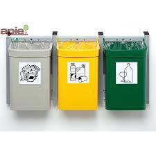 poubelle cuisine tri poubelles poubelle de trie poubelle tri selectif 2 bacs poubelle