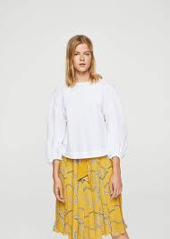 scarf blouse chain scarf blouse mango