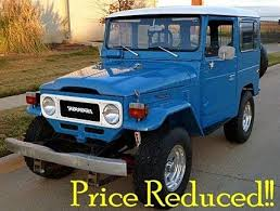 toyota on sale toyota land cruiser classics for sale classics on autotrader