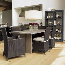 Dakota  Dining Table Crates Barrels And White Oak - Crate and barrel dining room tables