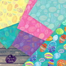 easter wrapping paper easter eggs digital paper easter gift wrap printable wrapping