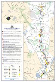 Map Of Cambridge Ma Rail Trails At Bedford Depot Park
