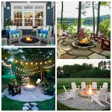 Firepit Area Stunning Inspiring Outdoor Pit Areas The Happy Housie