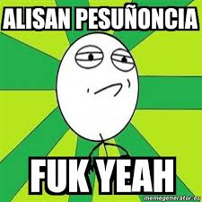 Fuk Yeah Meme - meme challenge accepted alisan pesuñoncia fuk yeah 24472683