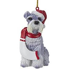 great gifts for schnauzer ornaments