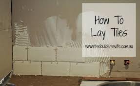 how to lay floor tiles the builder s