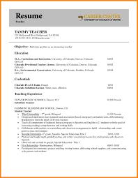 7 teacher resume objective write memorandum