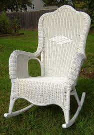 Rocking Chair Clearance Chair Furniture White Wicker Rocking Chair Forale As Real Awesome