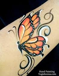 painting butterfly by yogishenna com paintings