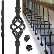 Stair Banisters Railings Best 25 Iron Stair Spindles Ideas On Pinterest