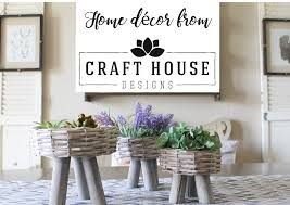 Home Decor Craft Blogs Farmhouse For Five Home Decor From Craft House Designs