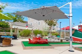 Commercial Patio Umbrella Eclipse Cantilever Square Umbrella Commercial Patio Umbrellas