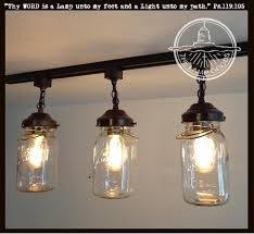 Track Light Pendant Fixtures Jar Pendant Lights Jar Light Fixtures Jar