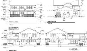 house with floor plans and elevations floor plan elevation elegant 25 house plan elevation and section