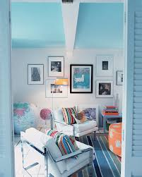 light blue ceiling with white walls paintright colac coloured