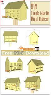 purple martin bird house plans 16 units pdf download martin