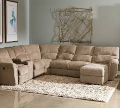 Cloth Reclining Sofa Sectional Sofa With Recliner Fabric Catosfera Net