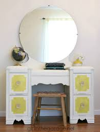 Bedroom Vanity Table With Mirror Makeup Storage Frightening Makeuprganizer Furniture Images
