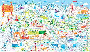 Jackson Hole Wyoming Map From Vacation To Vocation They Draw Cook Travel Share