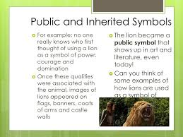 symbolism and allegory layers of meaning what symbols stand for
