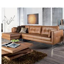 Light Brown Leather Sofa Paris Leather Left Hand Corner Sofa Tan Family Room Style