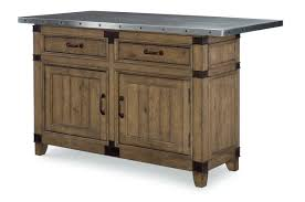 loon peak brigadoon kitchen island with stainless steel top wayfair