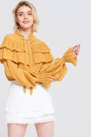 ruffle blouse molly ruffle blouse discover the fashion trends at