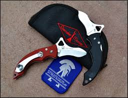 cherusker messer tusok folding knife designed by spyderco designer