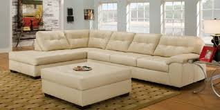 Leather Sectional Sleeper Sofa With Chaise Cream Leather Sectional U2013 Massagroup Co
