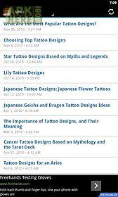 tattoo font designs for android free download at apk here store