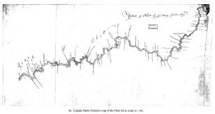 Big Bend Map 1766 Gordon Map