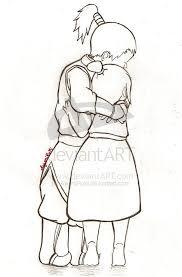 avatar the last airbender azula and zuko hugging u003c3 avatar the