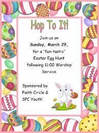 easter egg hunt march 29th shallotte presbyterian church