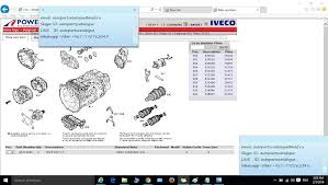 iveco power 2016 epc trucks electronic parts catalogue