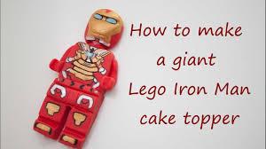 iron cake topper how to make a lego iron cake topper