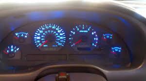 mustang custom gauges 2002 mustang gt led gauges