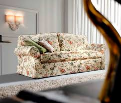 Cottage Style Sofa by Traditional Sofa Cottage Style Fabric 2 Seater Paris Cava